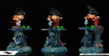 Load image into Gallery viewer, Little Son Goku And Ninja - Dragon Ball Resin Statue - FATTBOY Studios x DAYU Studios [Pre-Order]