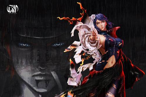 1/7 Scale Battle Damaged Konan - Naruto Resin Statue - CW Studios [Pre-Order]