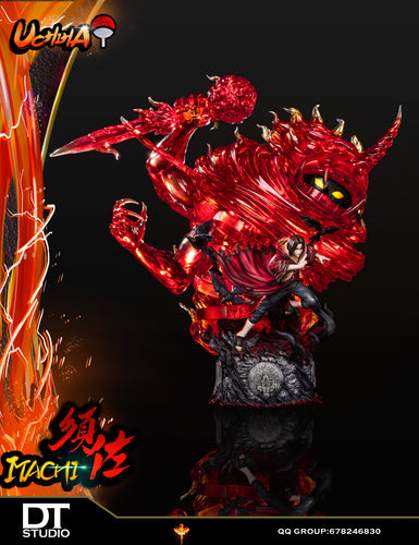 53CM Uchiha Itachi with LED - Naruto Resin Statue - DT-Studios [Pre-Order]