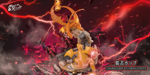 Palace of Victory Charizard vs Dragonite - Pokemon Resin Statue - Mecca Mai Studios [Pre-Order]