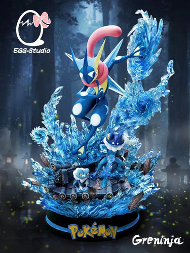 Evolution of Greninja - Pokemon Resin Statue - EGGS Studios [Pre-Order]