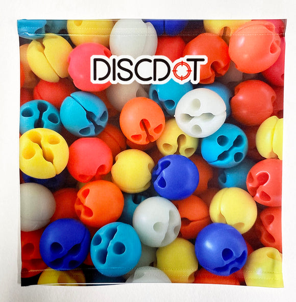 Disc Dot Face Mask