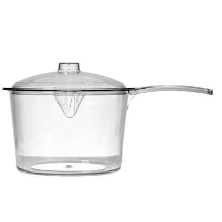 Microwave Saucepan Clear 600ml