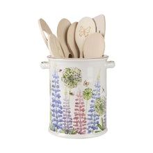 Load image into Gallery viewer, Cottage Garden Utensil Jar /Large