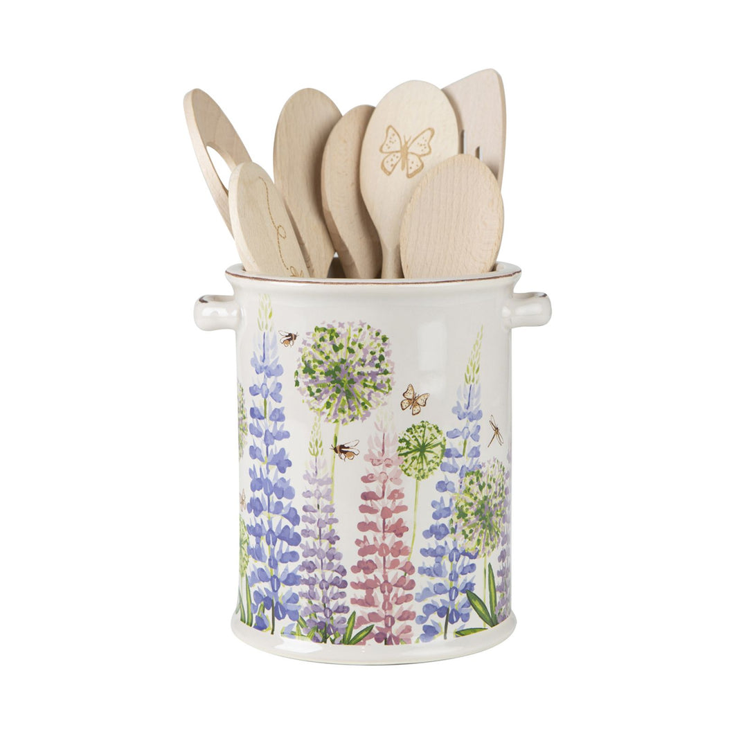 Cottage Garden Utensil Jar /Large