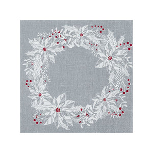Christmas Napkins /Scandi Wreath