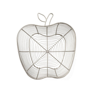 Tutti Frutti Wire Basket /Apple