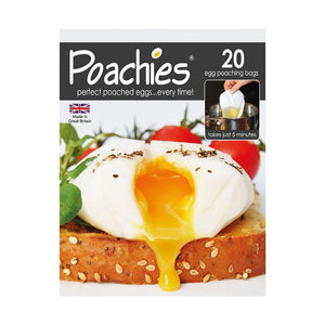 Poachies 20 egg Poaching Bags