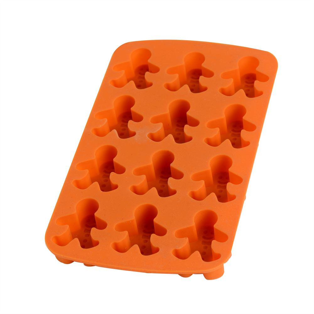 Gingerbread Man Silicone Ice Tray