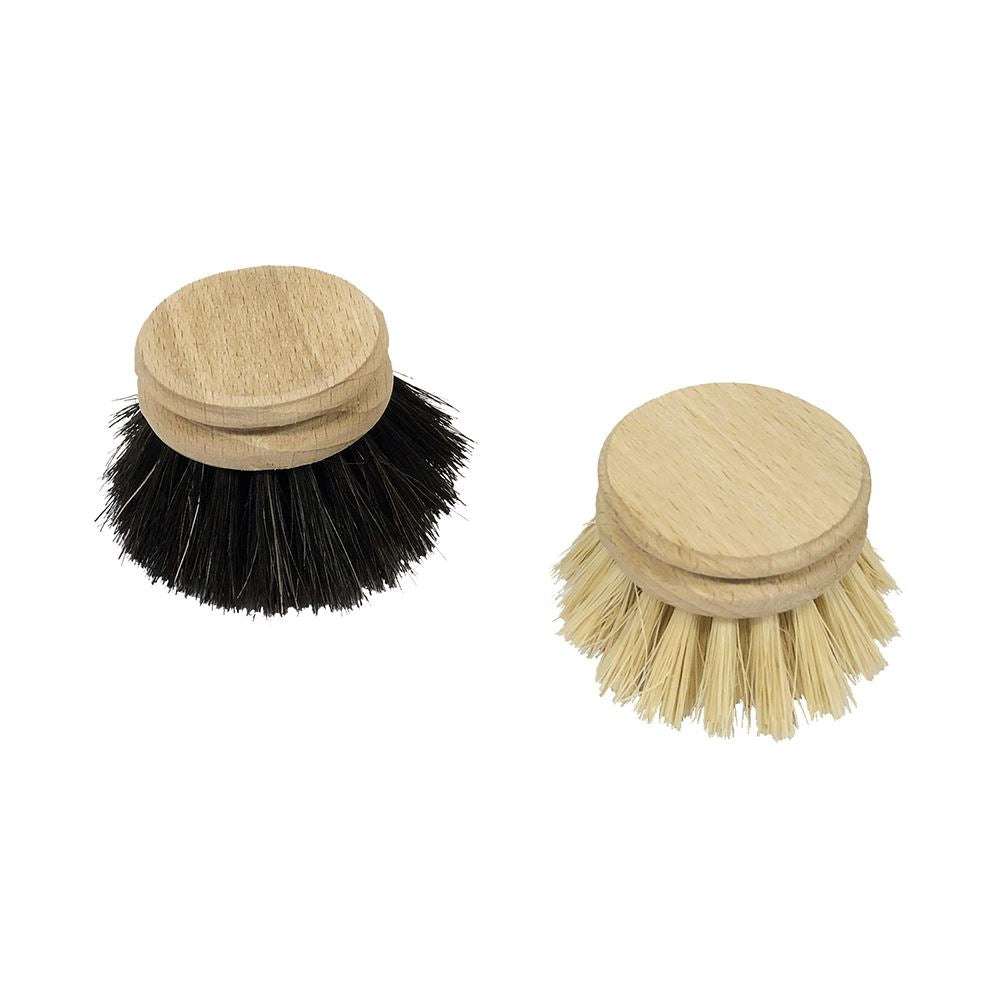 Dish Brush Replacement Heads /Wood