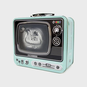 Metal Lunchbox TV /Beach