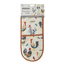Load image into Gallery viewer, Rooster Double Oven Glove