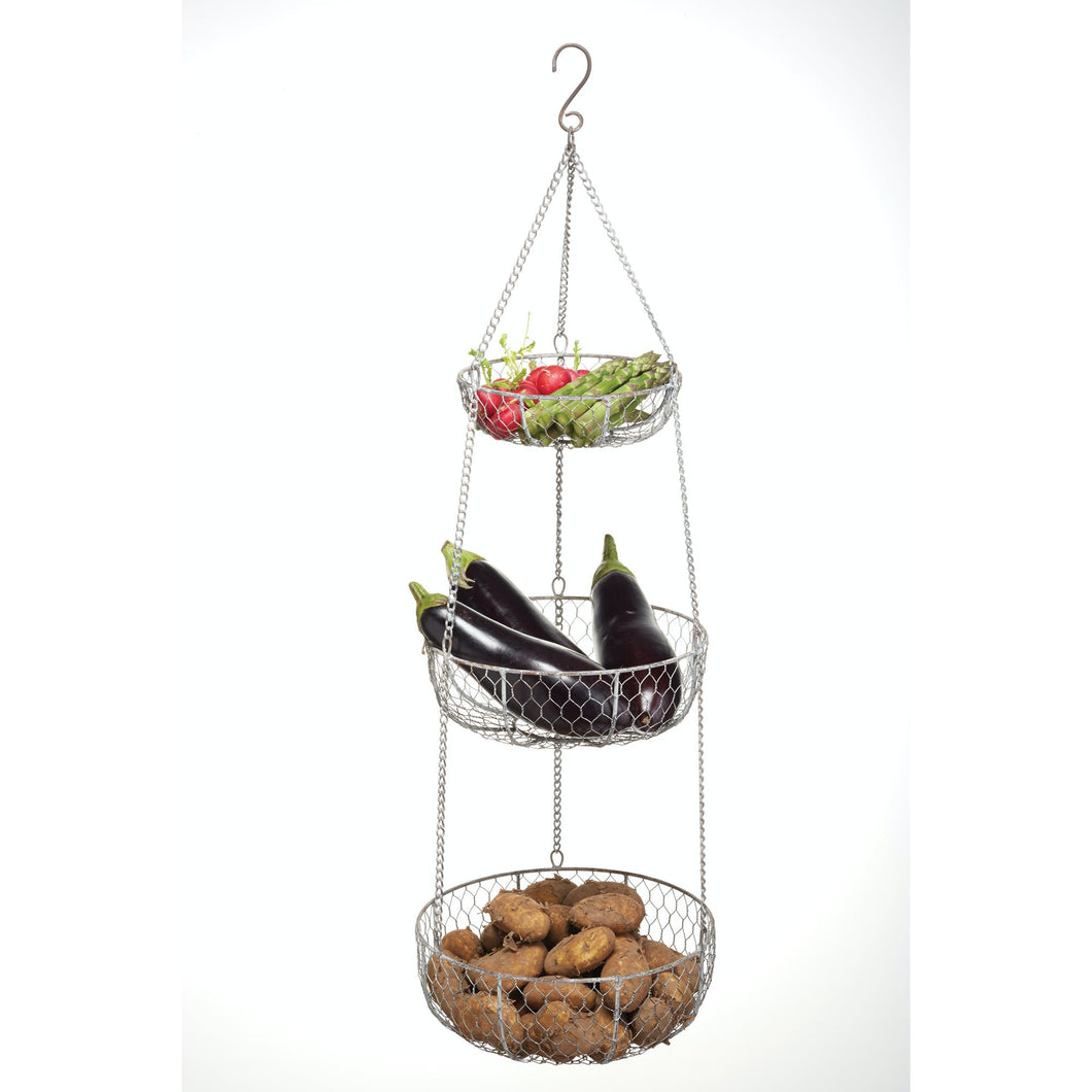 Hanging Vegetable Storage Baskets /3 Tier