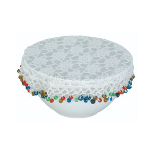 Beaded Bowl Cover 20cm