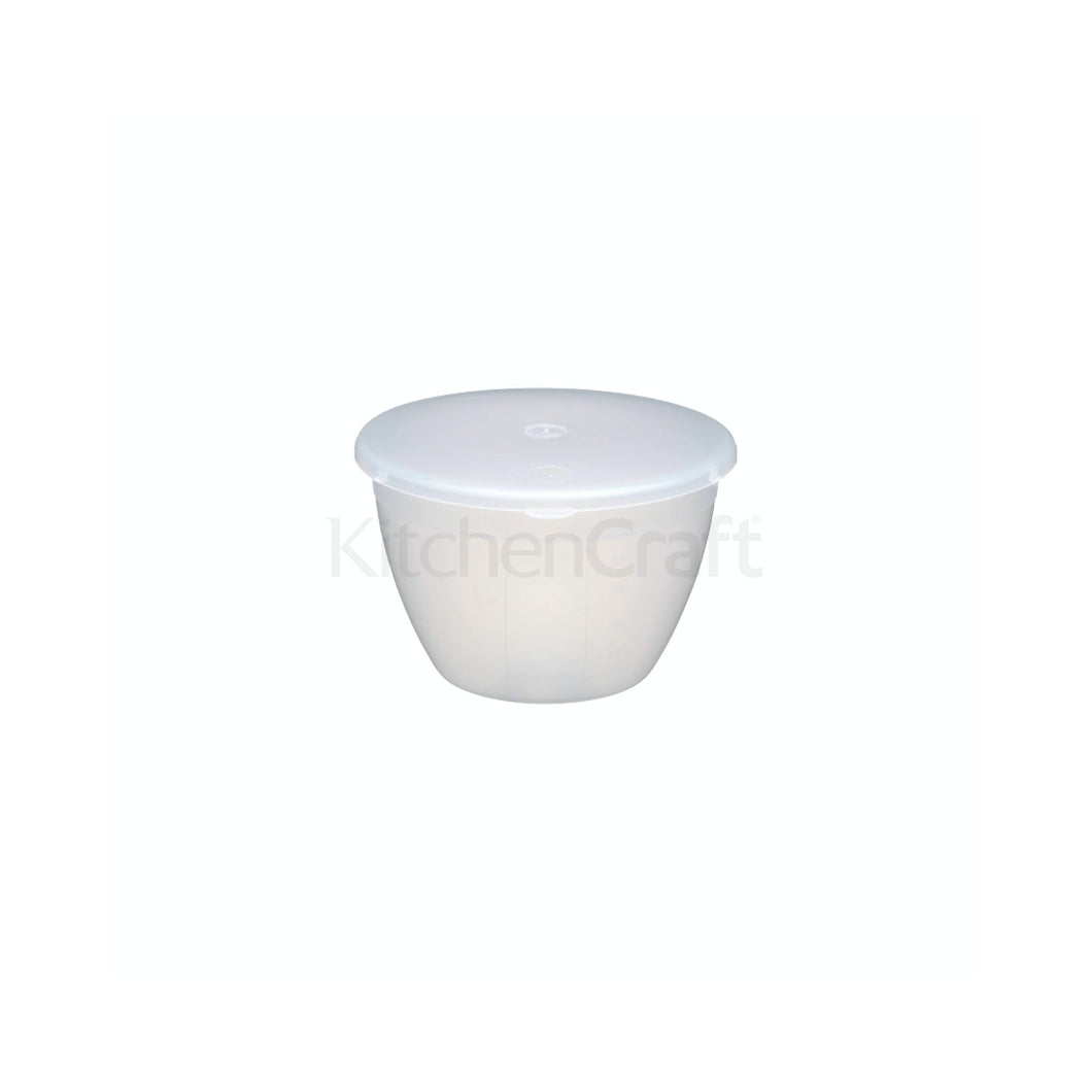 KC Microwave Pudding Bowls with Lids
