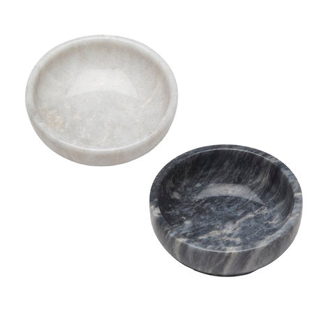 Small Round Marble Bowls