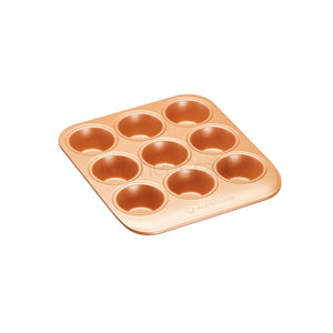 Smart Ceramic 9 Muffin Pan 24 x 22cm