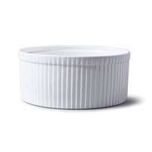 Load image into Gallery viewer, Classic Souffle Dish with fluted sides