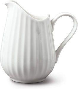 Traditional Jug White Ceramic