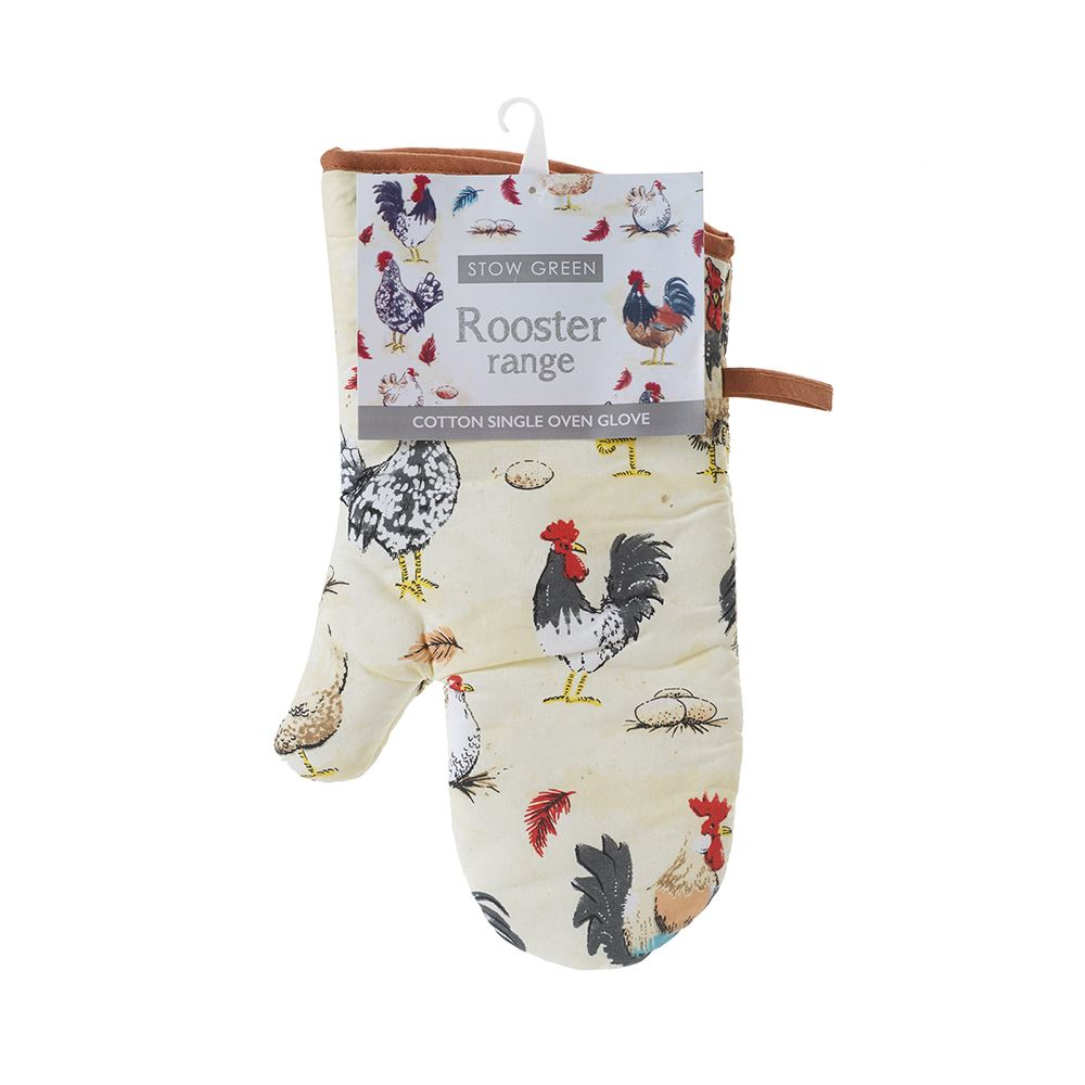 Rooster Single Oven Glove
