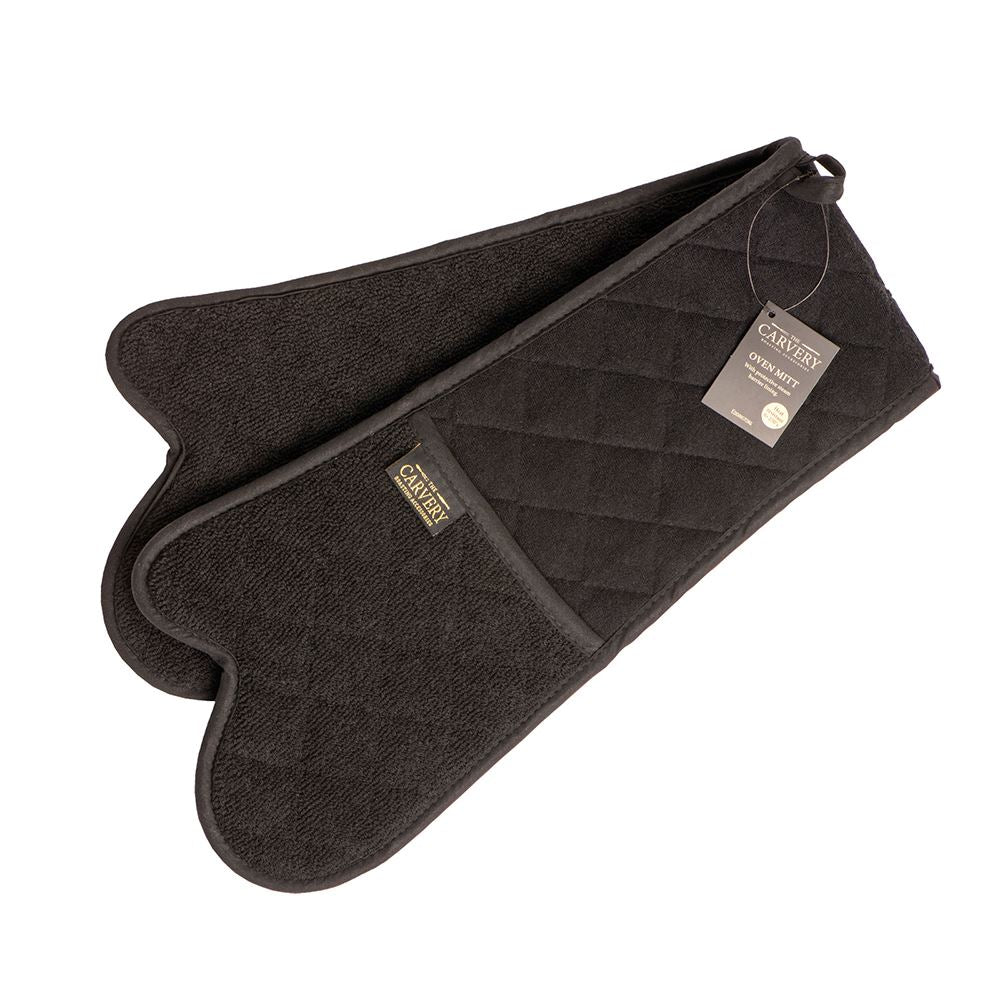 Carvery Double Oven Glove /Black