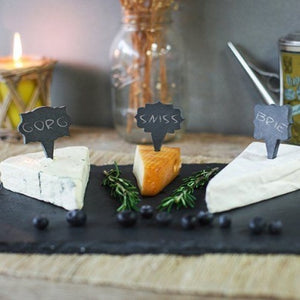 Slate Cheese Markers (S/3) - Mix by SPARQ