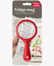 Load image into Gallery viewer, Fridge Magnet Magnifying Glass