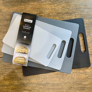 Chopping Board Set 4 /Grey tones