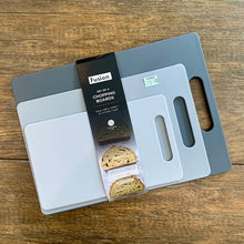 Load image into Gallery viewer, Chopping Board Set 4 /Grey tones