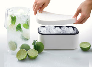 Ice Box and Tray /White