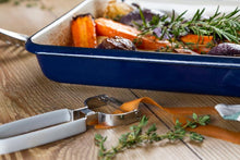 Load image into Gallery viewer, Tala Enamelled Steel Roaster Indigo Collection