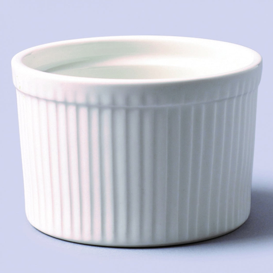 White Ceramic Ramekins