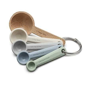 Measuring Spoons /Wood&Silicone