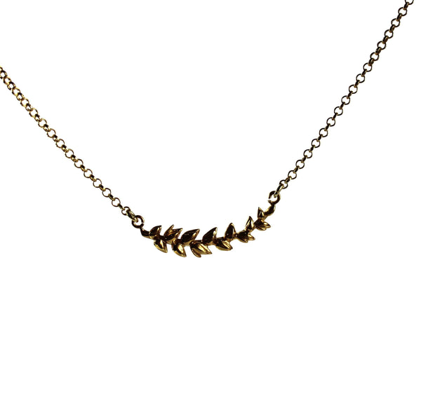 Leaf Necklace - Agora Jewellery London