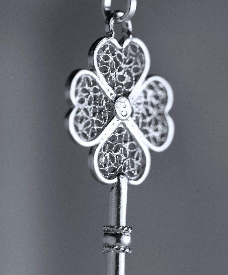 Lucky Key Pendant - AG Agora Jewellery London