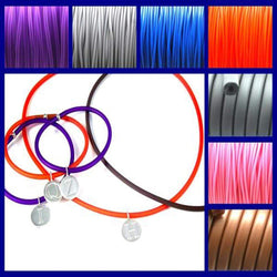 PVC Cord Necklace - AG Agora Jewellery London