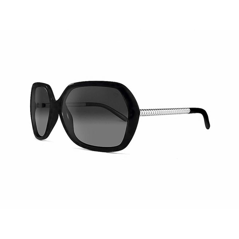 Ruby Rocks Ladies 'Paris' Oversized Sunglasses In Black