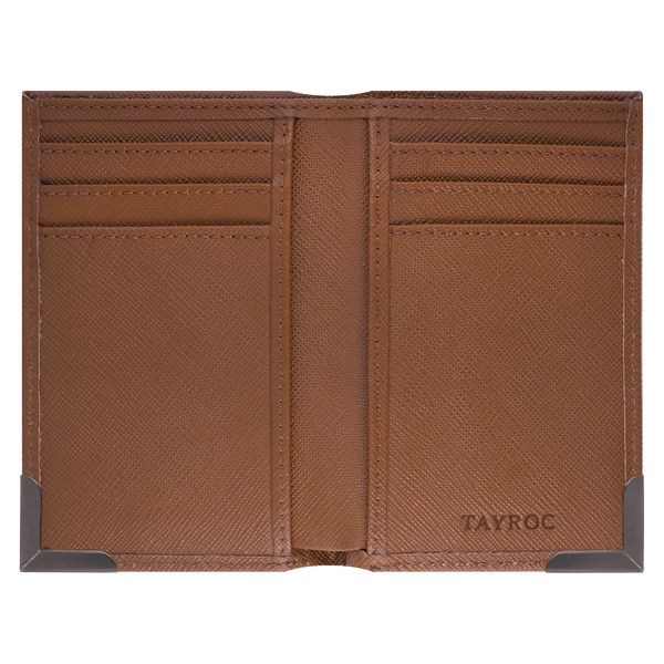 Severn - Tan Card Wallet