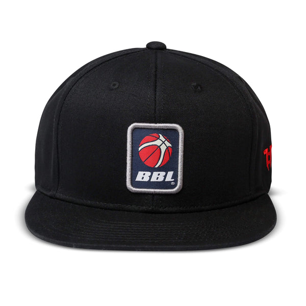 Tokyo Time BBL Signature Collab Cap - Black/Grey Adult Snapback Baseball Cap