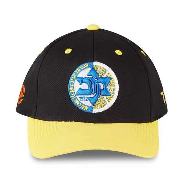 "Tokyo Time ""Maccabi Playtika Tel Aviv"" Euro League Collab Cap - Black/Yellow"