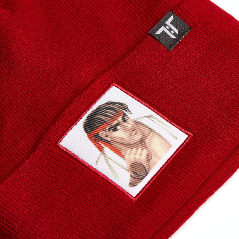 "Tokyo Time ""Street Fighter 2"" Beanie Hat - Ryu"