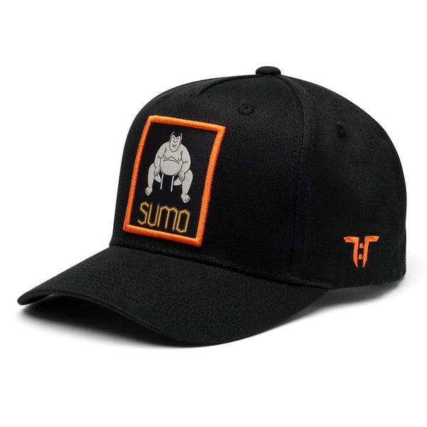 Tokyo Time Sumo Cap - Black/Orange Adult Snapback Baseball Cap