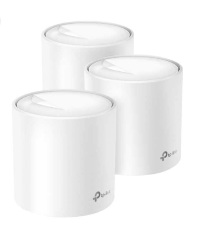 TP-Link Deco X60 Wi-Fi 6 AX3000 Whole-Home Mesh Wi-Fi System, 3-Pack