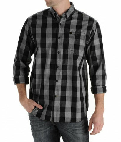 Lee Checkered Button Front Shirt
