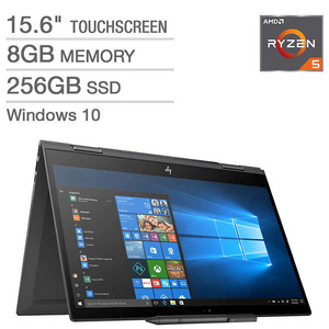 "HP Envy x360 15.6"" Touchscreen 2-in-1 Laptop - AMD Ryzen 5 - 1080p - HP Digital"