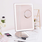 "iHome 10"" x 13"" Telescoping Portable Vanity Mirror with Bluetooth / Speakerphone"