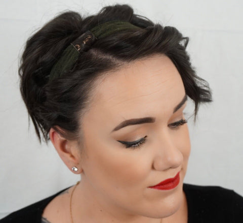 How To Wear Headbands With Short Hair House Of Koopslie