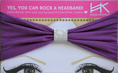 Headband - Purple With Python Loop