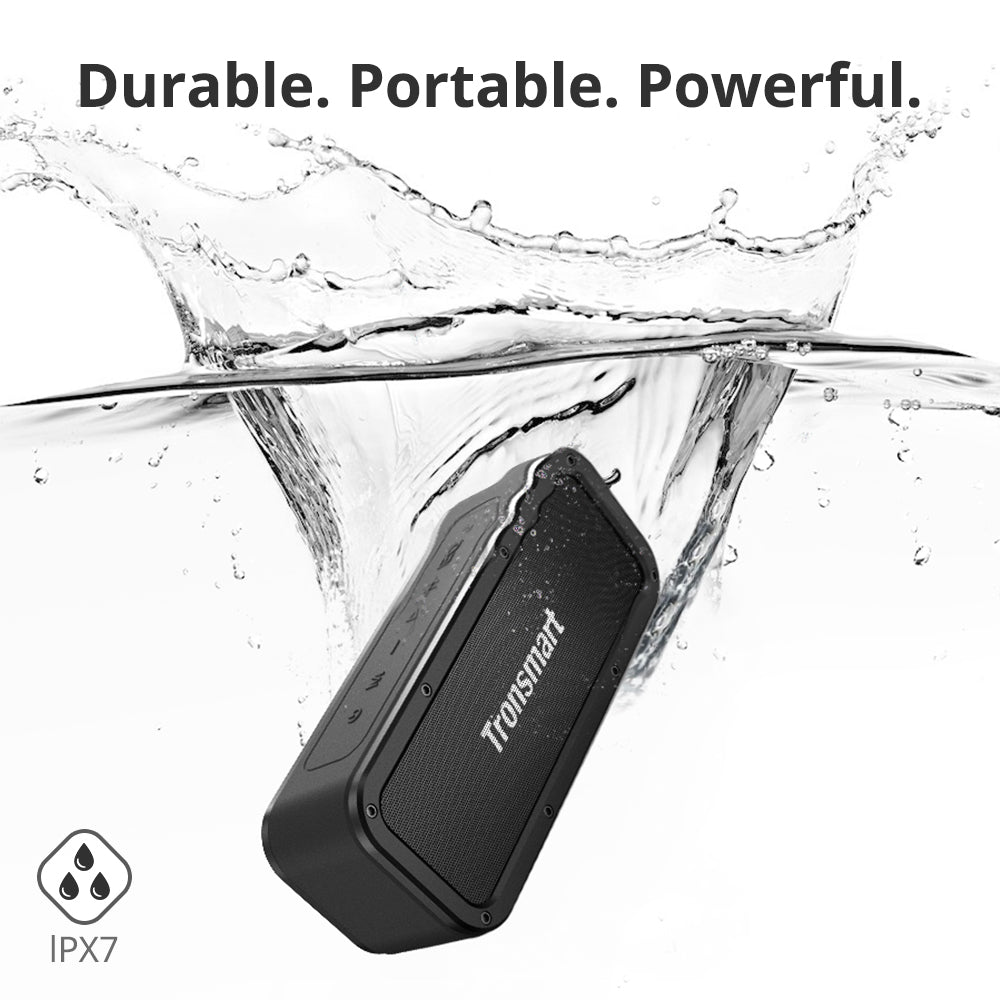 Tronsmart Element Force SoundPulse™ Waterproof Portable Bluetooth Speaker - Monkey Warehouse