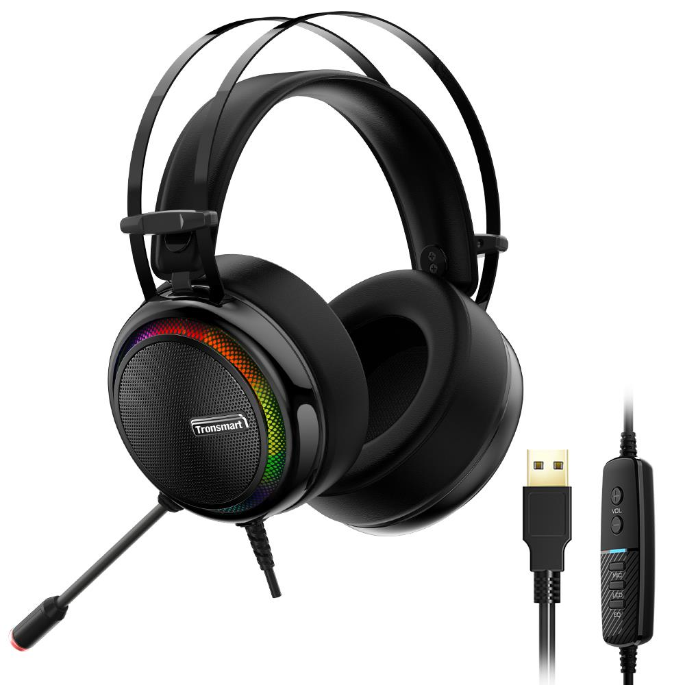 Tronsmart Glary Gaming Headset with 7.1 Virtual Sound - Monkey Warehouse